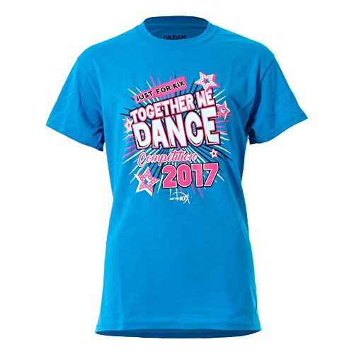 Used, Just For Kix Womens Blue 2017 Together We Dance Competition for sale  Delivered anywhere in USA