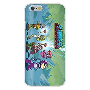 """Apple iPhone 6 Custom Case White Plastic Snap On - """"Plumbers of the Universe"""