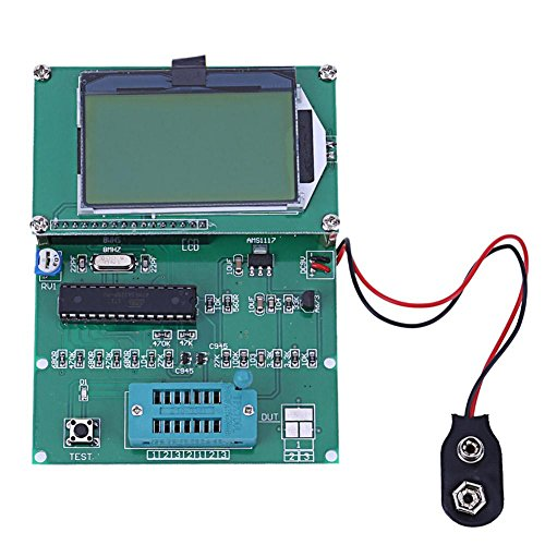 UEB GM328 Transistor Tester LCR Diode Capacitance ESR Meter