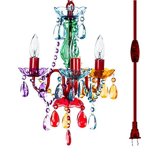 - The Original Gypsy Color 3 Light Mini Plug-in Gypsy Chandelier for H17