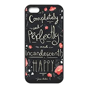 Austen Happy iPhone 4 4s Cell Phone Case Black 8You185025