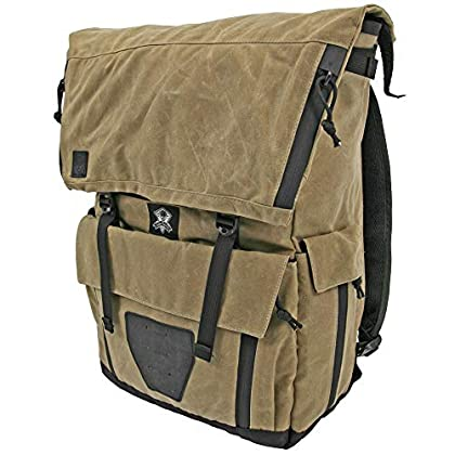 Image of Cases & Bags Grey Ghost Gear Gypsy, Backpack, Field Tan, Waxed Canvas, 19'x16'x4.5'