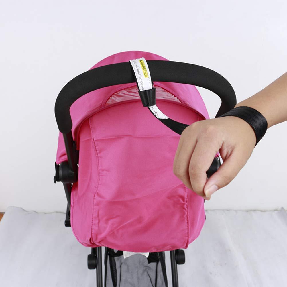 Negro Artibetter Correa de mu/ñeca de seguridad para cochecito Correa de mu/ñeca de seguridad para cochecito de beb/é para silla de paseo