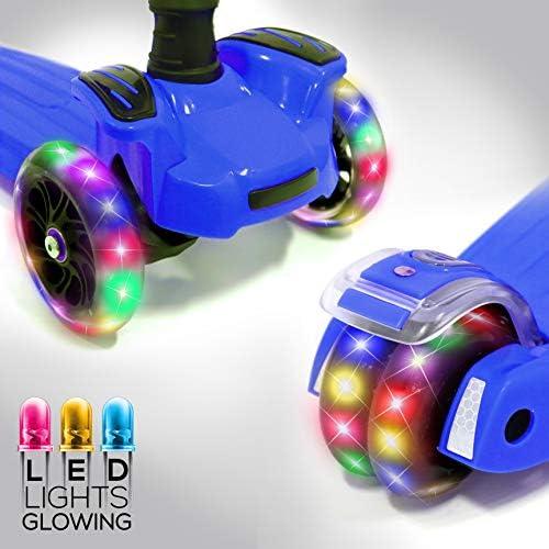Amazon.com: Hurtle HURFS66 Patinete de 3 ruedas para niños ...