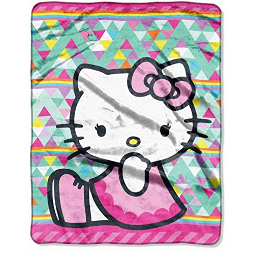 (Hello Kitty Silky Soft Throw)