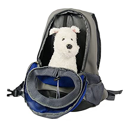93f26b531b Mitef Pet Carrier BagBackpack Breathable Mesh Travel Head Out Double  Shoulder Bag for Small Dogs Cat