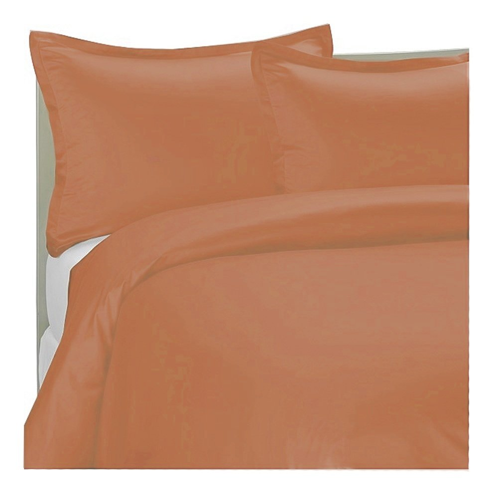 MARRIKAS 300TC 100% Modal From Beechwood QUEEN Duvet Cover CORAL