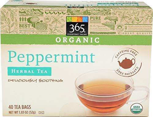 365 Everyday Value, Organic Peppermint Tea (40 Tea Bags), 1.83 oz