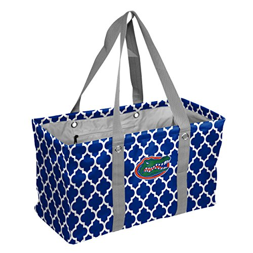 Logo Brands Collegiate Large Collapsible Picnic Tote Florida Gators, Royal, One - Florida Collapsible Ncaa Gators