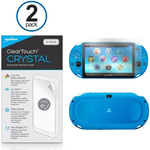 Sony Playstation Vita Protector de pantalla, BoxWave® [ClearTouch ...