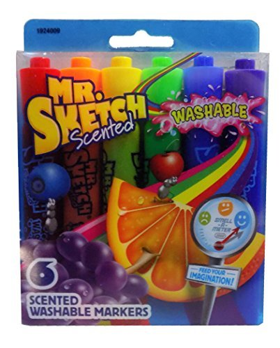 (SCENTED MARKER 6CT (Pkg of 3) )
