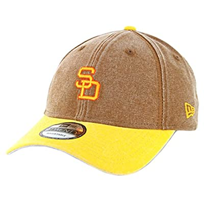"San Diego Padres New Era MLB 9Twenty Cooperstown ""Rugged Canvas"" Adjustable Hat from New Era"
