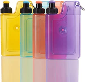 RAINBOTTLE Ice Packs for Lunch Box Slim Reusable Freezer Dry Ice Pack for Coolers Keep Cold and Fresh for Outdoor Camping Picnic and Parties (Set of 4)