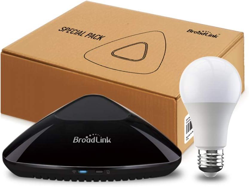 Broadlink RM PRO+ WiFi Smart Home Hub, IR RF Automazione Telecomando Universale Tutto in Uno