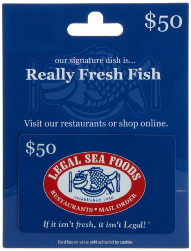 Legal Sea Foods Gift Card $50 ()