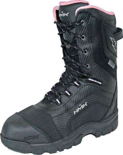 Voyager Snowmobile Boots - HMK Voyager Women's Boots (Black, Size 11)