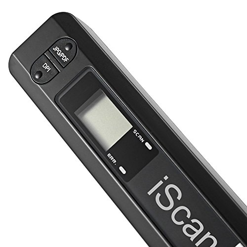 Mini Portable Digital Scanner 900DPI Handyscan Portable Wireless A4 Handhold Scanner Pen Document Scanner+32G Card