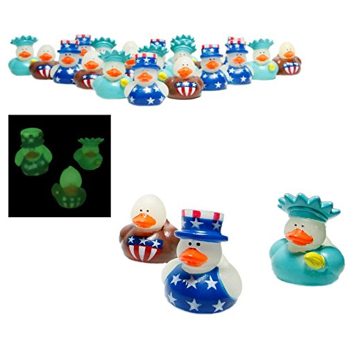 Fun Express Patriotic Rubber Favors