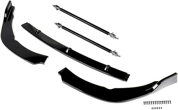 ANGLEWIDE Front Lip Splitter Rods 5.91 Stainless Steel Front Bumper Lip Splitter Diffuser Strut Rod Tie Bars