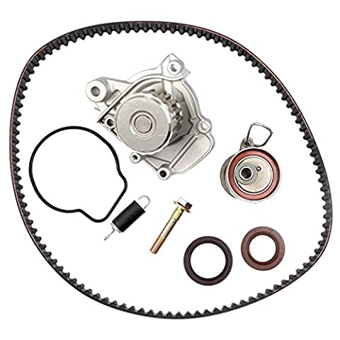 ECCPP New Timing Belt Water Pump Kit Fits 2001-2005 Honda Civic GX DX LX VP EX HX 1.7L D17A1 D17A2 D17A6 D17A7 L4 SOHC 16 Valve (2002 Honda Lx)