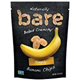 Bare Simply Natural Banana Chips, 1.3 Ounce -- 48 per case.