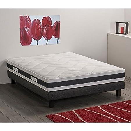 Deko Dream Aston - Colchón de espuma de alta densidad (140 x 190 x 22 cm): Amazon.es: Bricolaje y herramientas