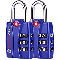 Theft is a common occurrence in most airports. According to a recent CNN study, 25% of these thefts happen in the baggage handling and storage areas. Protect your valuables by using TSA accepted luggage locks. This TSA padlock is the best in ...