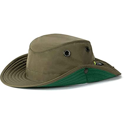 Amazon.com  Tilley TWS1 Paddlers Hat Olive 71 2  Sports   Outdoors 6a892c340ec