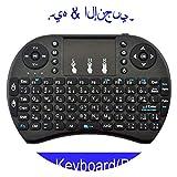 Laptop Android TV Box x96 x92,English Black cr,Use AAA Battery,UseAAABattery,ArabicBlackColor