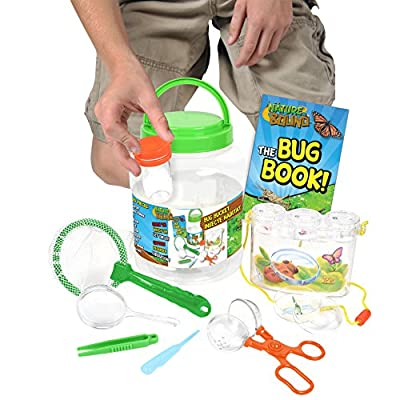 Nature Bound Bug Catcher with Habitat Bucket and 7 Piece Nature Exploration Set: Toys & Games