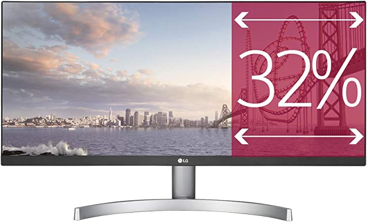 "LG 29WK600 Monitor 29"" UltraWide 21:9 LED IPS HDR, 2560x1080, AMD FreeSync  75Hz, Audio Stereo 10W, HDMI (HDCP 2.2), Display Port 1.2, Uscita Audio,  Flicker Safe, Bianco : Amazon.it: Informatica"