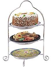 Elegance-85090-3-Tier Dessert Glass Tray