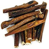 "Peppy Pooch 6"" Bully Sticks. All Natural Beef Chews For Dogs. Made in USA. 12 Pack."