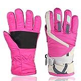 Children Ski Waterproof Gloves Winter Warm