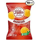Besser Than Good Snacks - BBQ Veggie Protein Puffs 16g Protein - 2 Serving of Fruits & Veggies, Low Carb, Low Sugar, 110 Calories, Keto Friendly, Healthy Diabetic Snack