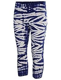 Nike Womens Tie-Dye Flat Front Capri Pants