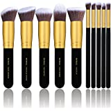 BS-MALL Professional 22 Pcs Rose Golden Make up...
