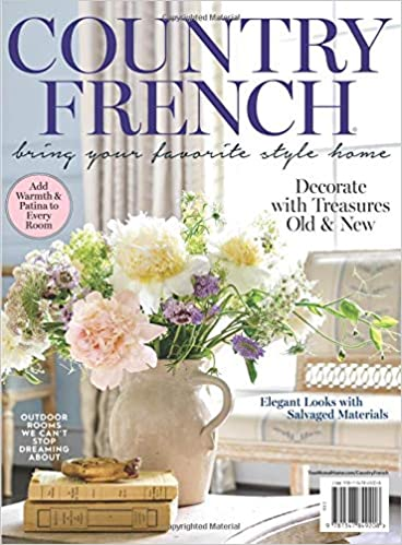 Country French magazine cover
