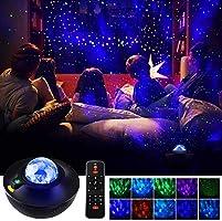 LEDスタープロジェクターライト 星空ライト ベッドサイドランプ 21種点灯モード 2in1レーザー /USBメモリに対応 リモコン式 BT-4.2音楽プレーヤー タイマー機能付き 音声制御 輝度/音量調整可 2020最新版 日本語説明書...