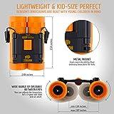 BeBison Binoculars for Kids and Adults - 8x21 High