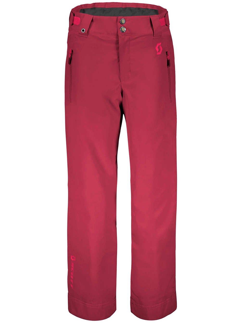 Mahogany rouge XL Scott Pantalon de ski pour enfant Jr Ultimate dryo 10