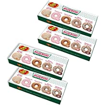 (Set/4) Jelly Belly Krispy Kreme Gift Boxes w/ 5 Different Authentic Flavors