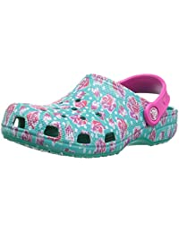 Kid's Classic Graphic Clog | Slip On Water Shoe for Toddlers, Boys, Girls | Lightweight