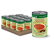 Amy's Organic Soups, Vegan Chunky Tomato Bisque, 169.2 Ounce (Pack of 12)