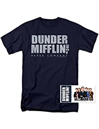 The Office Dunder Mifflin NBC T Shirt & Exclusive Stickers