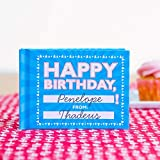 Knock Knock Happy Birthday Fill in the Love Book