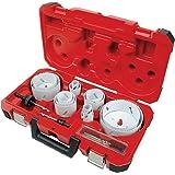 Milwaukee 49-22-4105 Master Electricians Ice Hardened Hole Saw Kit, 19-Piece
