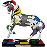 Trail of Painted Ponies The Artist Paint Splattered Horse Figurine 4049719