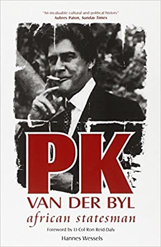Pk Van Der Byl: African Statesman: Amazon.es: Wessels, Hannes ...