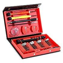 Geekbuying 38 Stück Präzisions Schraubendreher Set Reparatur Tool Kit für die Reparatur von iPhones, Android Handys, Tabletten, Computer, Elektronik und vieles mehr